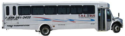 Tri-Valley Opportunity Council bus