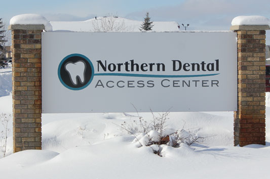 Northern Dental Access Center sign