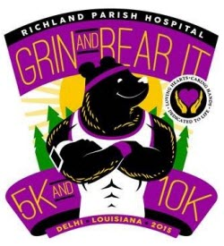 Grin and Bear It 5K and 10K logo
