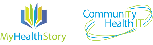 CommunityHealth IT and MyHealthStory logos