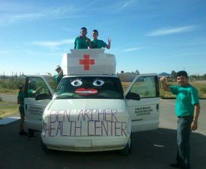 Ben Archer Health Center First Aid Van