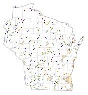 Selected Rural Healthcare Facilities in Wisconsin