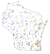 Selected Rural Healthcare Facilities in Wisconsin
