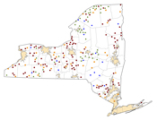 Selected Rural Healthcare Facilities in New York