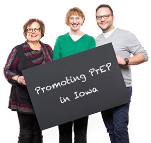 Promoting PrEP in Iowa