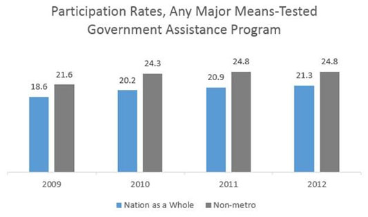 Government Assistance Participation Rates