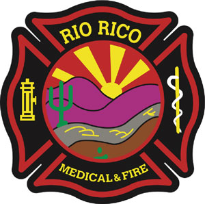 Rio Rico Medical & Fire Department logo