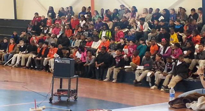 Farmerville Elementary School bully free session