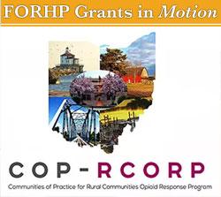 Communities of Practice for Rural Communities Opioid Response Program logo