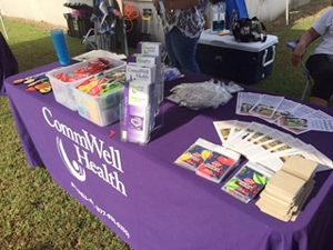 CommWell Health outreach table