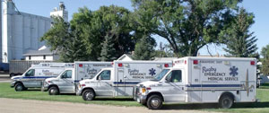 Rugby EMS Ambulance Fleet