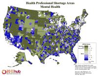 Health Professional Shortage Areas: Mental Health