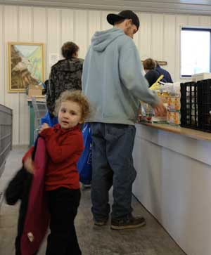 Food pantries serving more and more of the rural poor for Loaves and fishes food pantry