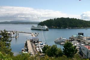 Ferry, San Juan Islands