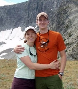 Lander Cooney and husband, John, hiking in Montana.