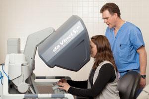 Robotic surgery with da Vinci system