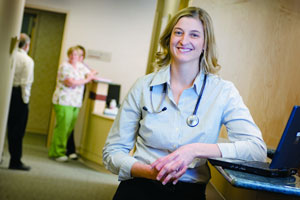 Kim McMillan, Crete Area Medical Center PCMH team