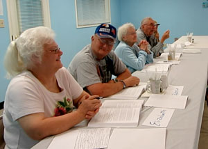 KRDC diabetes class participants