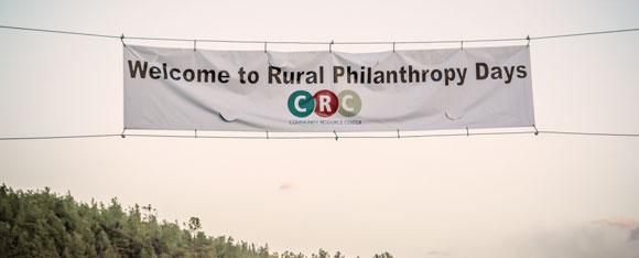 Colorado Rural Philanthropy Days banner