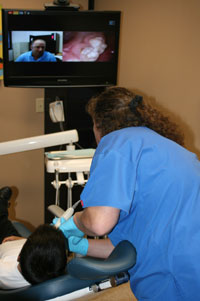 Finger Lakes Telehealth Network dental screening