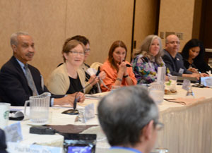 National Advisory Committee on Rural Health and Human Services at meeting