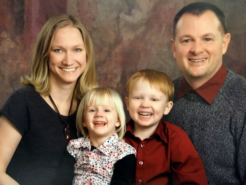 Dr. Jill Kruse and family