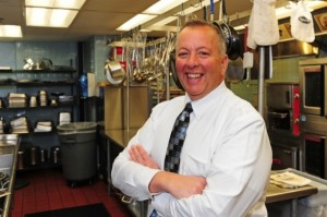Roger Knysh, director of nutrition and foodservices for Berkshire Health System