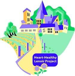 Heart Healthy Lenoir Project logo