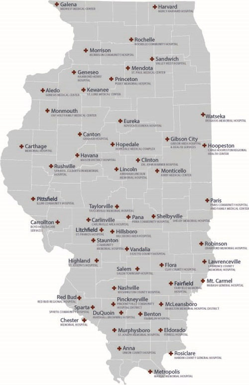 Illinois Network Puts Hospitals Needs First  The Rural