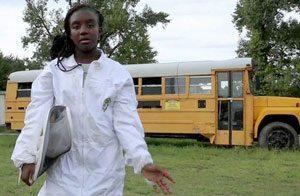 Tationa Hymana, beekeeper