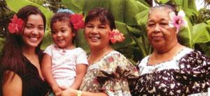 Kiki Stinnett and family