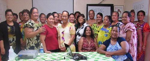 Chuuk Women's Council members