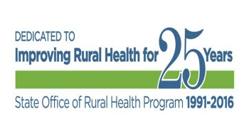 State Offices of Rural Health 25 Years logo