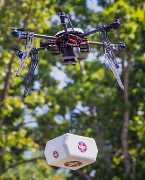 Wise County, Virginia drone delivery
