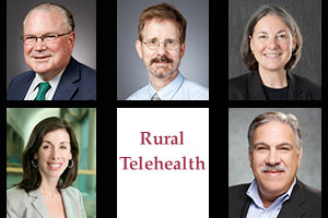 photos of rural telehealth panel contributors