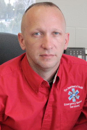 Andy Gienapp, Director of the Wyoming Office of EMS