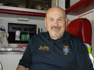 Ken Reed, Rugby EMS Director
