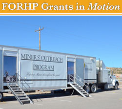 mobile miner screening truck
