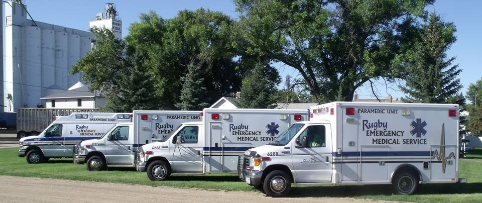 Rugby, North Dakota EMS fleet