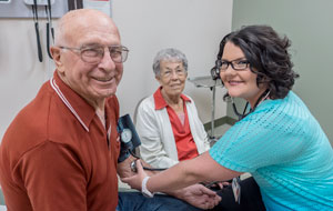 Patients and staff at Gritman Medical Center: Potlatch Family Care