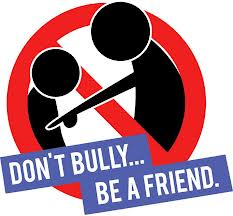 Don't Bully... Be a Friend graphic