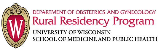 logo for the OB-GYN rural residency program at the University of Wisconsin School of Medicine and Public Health