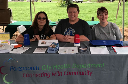 Portsmouth City Health Department team