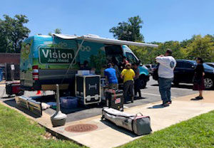 Association of Clinicians for the Underserved Vision Van.