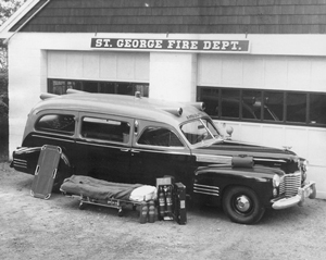 old St. George ambulance