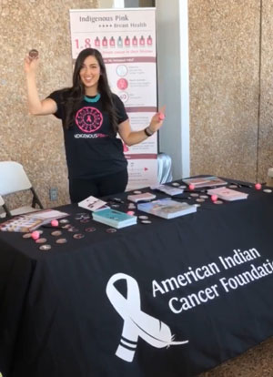 American Indian Cancer Foundation's Amber Ruffin