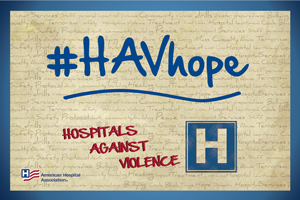 #HAVhope campaign sign