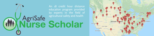 graphic for the AgriSafe Nurse Scholar program