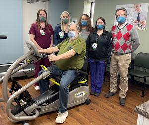 McKenzie Health System pulmonary rehabilitation staff.