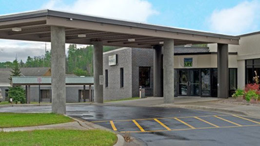 Essentia Health-Ely Clinic in rural Ely, Minnesota.